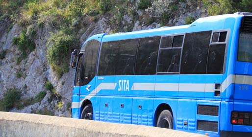 Photo of Sita: bus bloccato in galleria