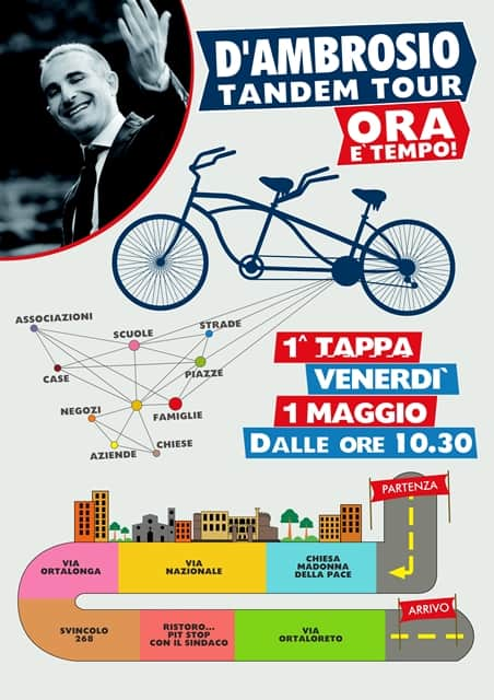 Photo of Amministrative, ad Angri parte il tandem tour di D'Ambrosio