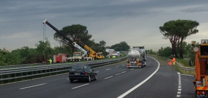 Photo of Chiuso un tratto d'autostrada