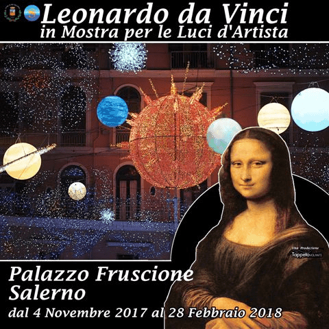 Photo of Leonardo da Vinci in Mostra per le Luci d'Artista: la conferenza stampa
