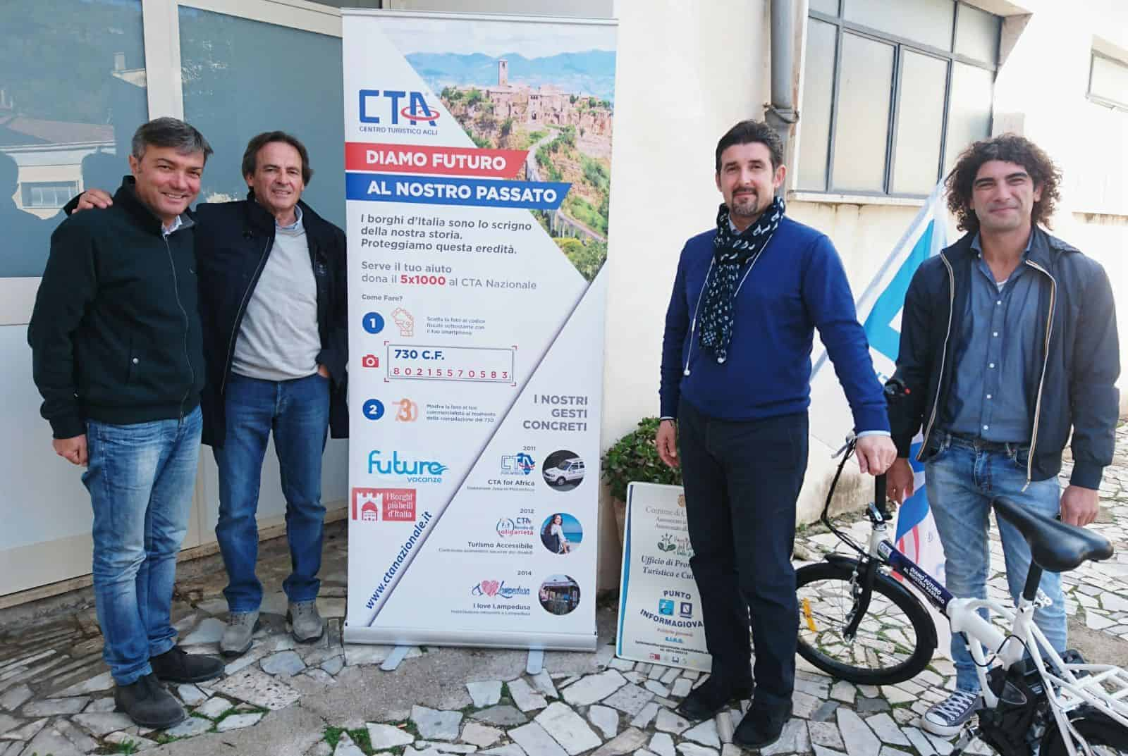 "Photo of Castellabate, turismo sostenibile: presentato progetto ""Cta e-Bike"""