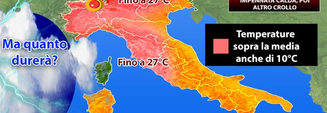 Photo of Meteo: ritorna il caldo, ma nel weekend rischio alluvioni