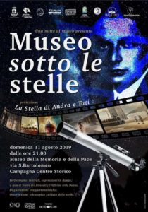 Campagna museo sotto le stelle
