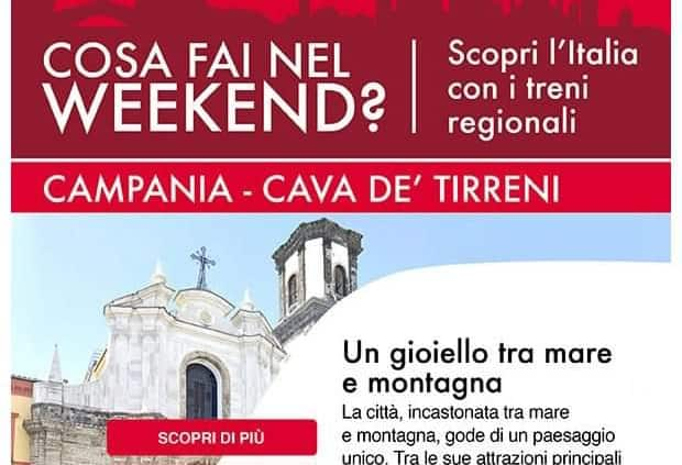 Photo of Trenitalia propone Cava de' Tirreni come idea per un viaggio al Sud